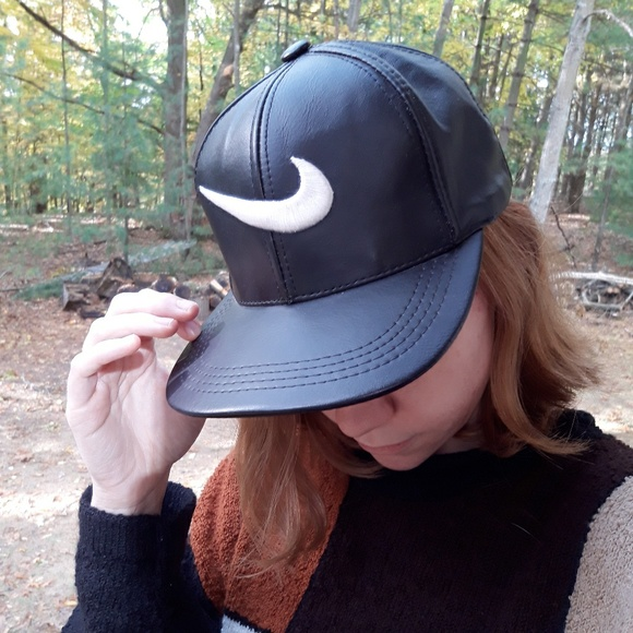 Nike Other - Nike Leather Hat